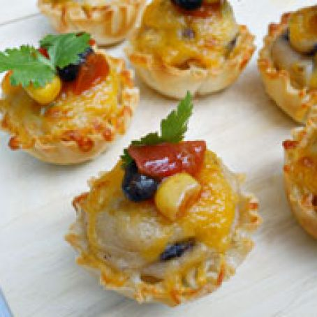 Tex-Mex Phyllo Cups