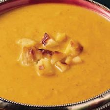 Grill Roasted Apple & Pumpkin Bisque