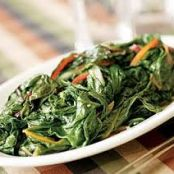 Sautéed Swiss Chard with Almonds