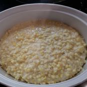 K's Fabulous Lightened Slow Cooker Creamed Corn