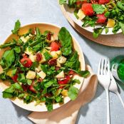 Marinated Watermelon Salad With Lime Vinaigrette