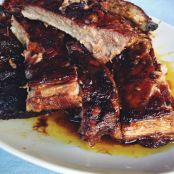 Cranberry and Orange Juice Spareribs