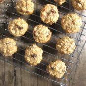 Super Healthy Oatmeal Raisin Cookies