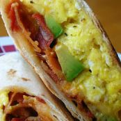 Avocado-Bacon Breakfast Wrap