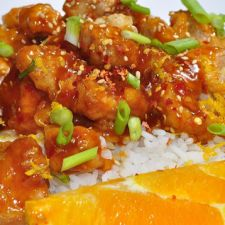Slow Cooked Orange Chicken
