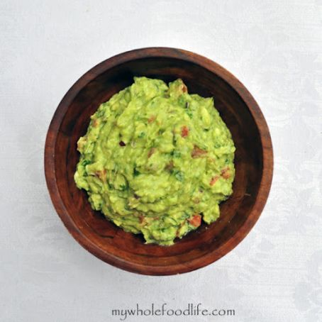 Guacamole with Roasted Tomatillos & Chipotle Peppers