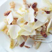 Endive Salad with Toasted Walnuts and Breadcrumbs