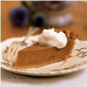 Classic Pumpkin Pie- Cooking Light
