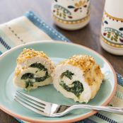Spinach and Mozzarella Stuffed Chicken Breasts