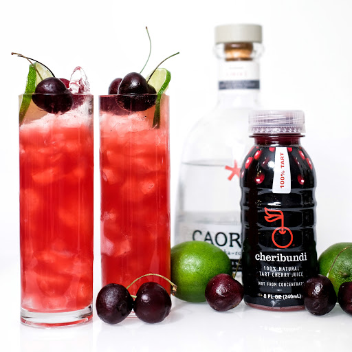 spiked cherry limeade