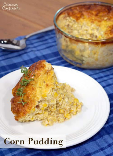 southern corn pudding curious cuisiniere