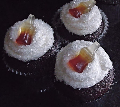 Jack and Coke Cupcakes Recipe - (4.5/5)