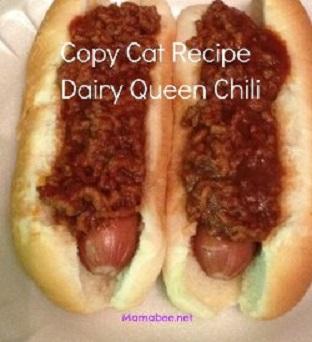 Copy Cat Recipe Dairy Queen Hot Dog Chili Recipe 3 8 5