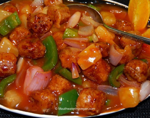 Chinese Vegan Sweet And Sour Pork Recipe 4 4 5