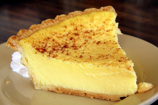 Old Fashioned Custard Pie Recipe 4 5 5