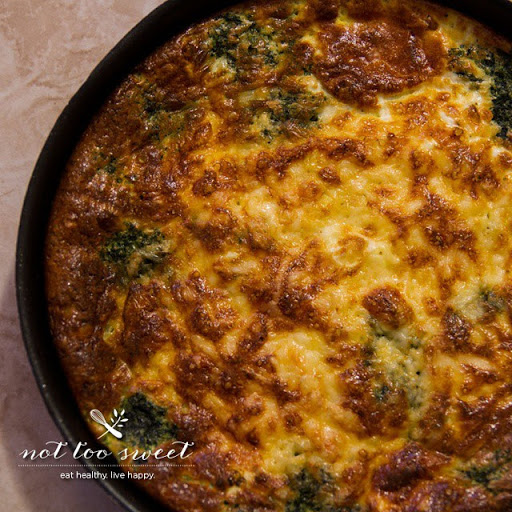 Spinach & Mushroom Crustless Quiche Recipe - (4.5/5)_image