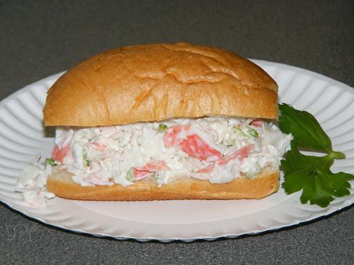 Imitation Crab Salad Pistolettes Recipe 4 4 5