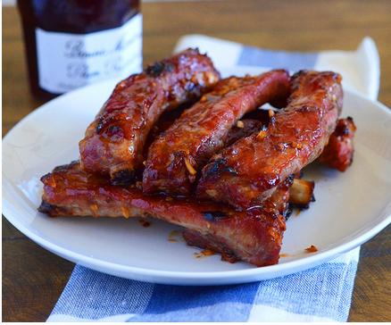 Chinese Pork Ribs With Plum Sauce Recipe 4 1 5