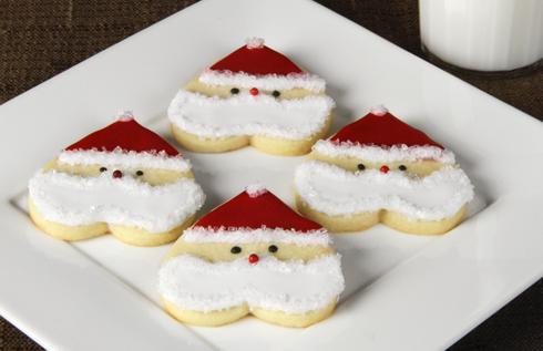 Santa Heart Cookies Recipe 4 5 5