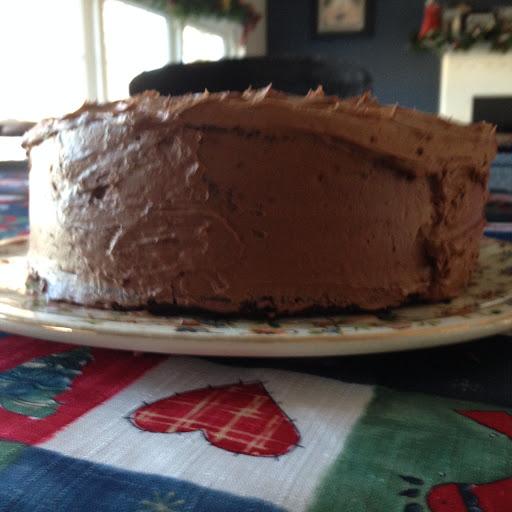 Double Chocolate Layer Cake Recipe - (4.5/5) image