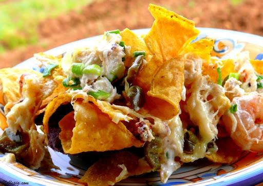 Crab and Shrimp Nachos Recipe