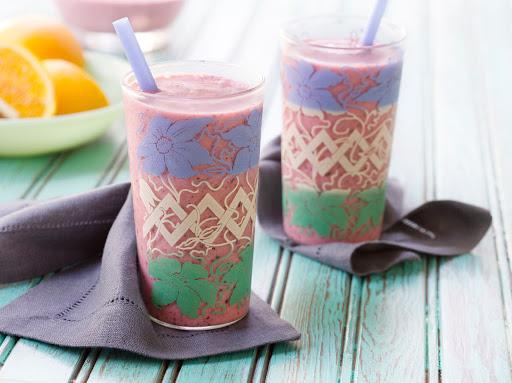 Creamy Tropical Berry Smoothie Recipe 4 6 5