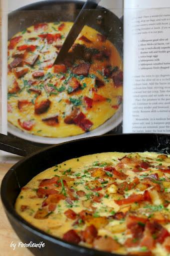 Country French Omelet (Bacon & Potato Frittata) Recipe - (4.4/5) image