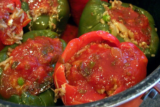 Stove Top Stuffed Peppers Recipe 4 5 5