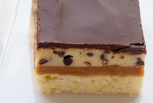 Cookie Dough Billionaire Bars Recipe - (4.6/5)_image