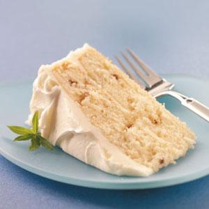 Makeover White Christmas Cake Recipe - (4.5/5) image