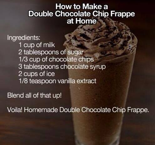 Double Chocolate Chip Frappe Recipe - (3.9/5) image