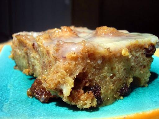 Cinnamon Bread Pudding with Warm Vanilla Bourbon Sauce Recipe - (4.1/5) image