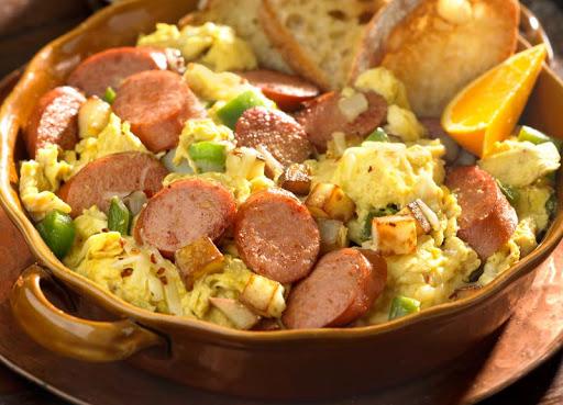 Andouille Sausage Cajun Scramble Recipe - (4.5/5) image