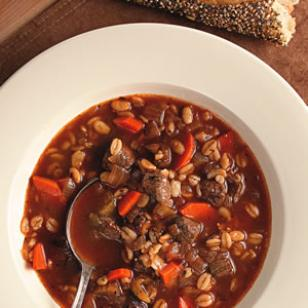 SLOW-COOKER BEEF, BACON AND BARLEY SOUP Recipe - (4.4/5)_image